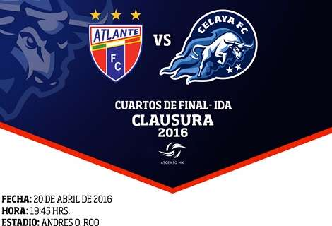 Atlante vs Celaya