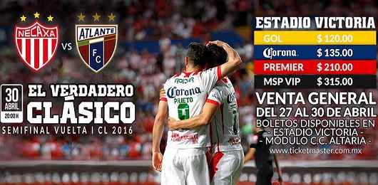 Necaxa vs Atlante