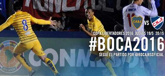 Boca Juniors vs Nacional