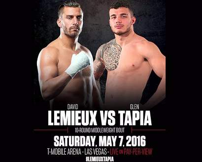 David Lemieux vs Glen Tapia
