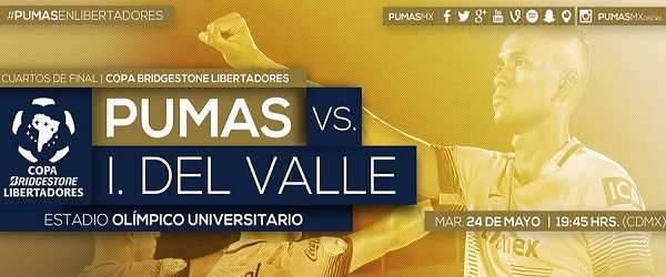 Pumas vs Independiente del Valle