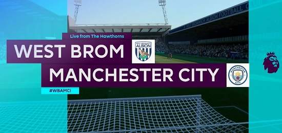 West Bromwich vs Manchester City EN VIVO Hora, Canal, Dónde ver Jornada 20 Premier League 2020-2021
