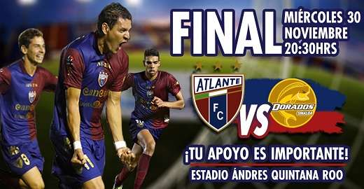 Atlante vs Dorados