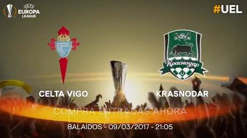 Celta vs Krasnodar