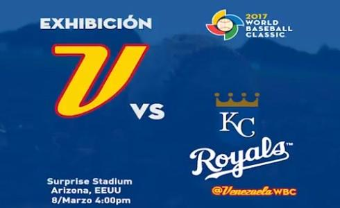 Venezuela vs Royals de Kansas City