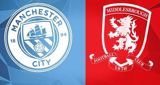 Middlesbrough vs Manchester City
