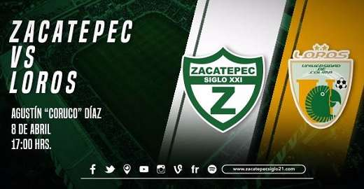 Zacatepec vs Loros de Colima