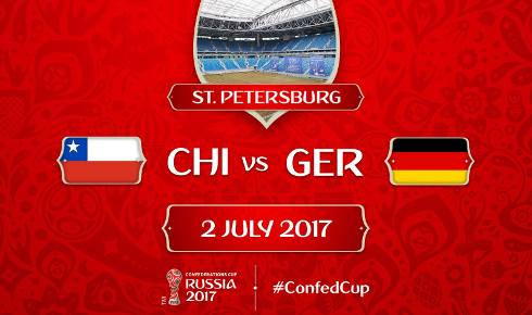 Chile vs Alemania Final Copa Confederaciones 2017