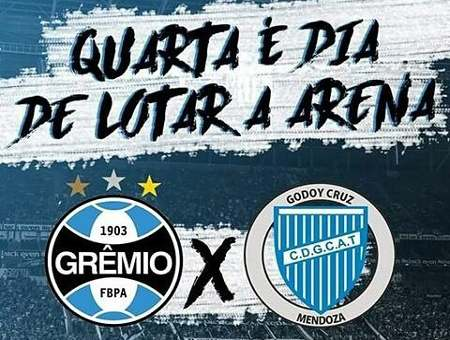 Gremio vs Godoy Cruz