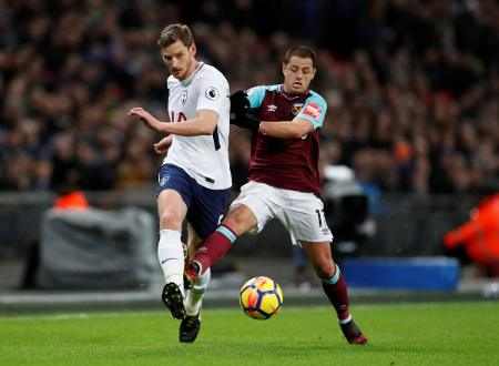 West Ham empata 1-1 Tottenham en Premier League 2017-18