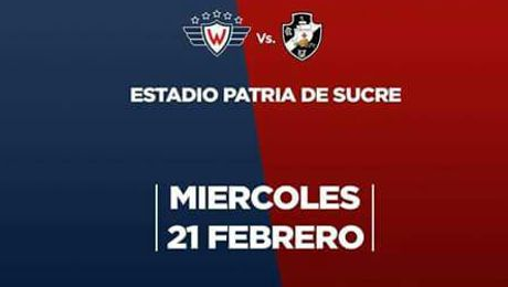 Wilstermann vs Vasco da Gama