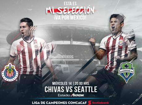 Chivas vs Seattle Sounders