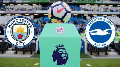 Brighton vs Manchester City EN VIVO Hora, Canal, Dónde ver Jornada 35 Premier League 2019-2020