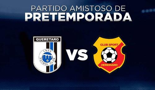 Querétaro vs Herediano