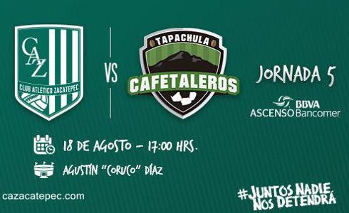Zacatepec vs Cafetaleros