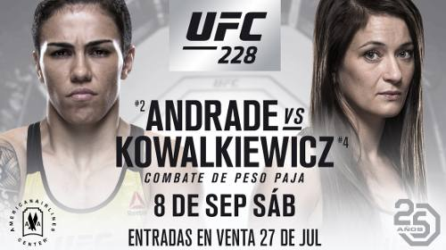 Jessica Andrade vs Karolina Kowalkiewicz