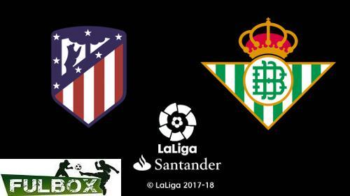Resultado: Atlético de Madrid vs Betis [Vídeo Resumen Gol] ver Jornada 36 Liga Española 2019-2020