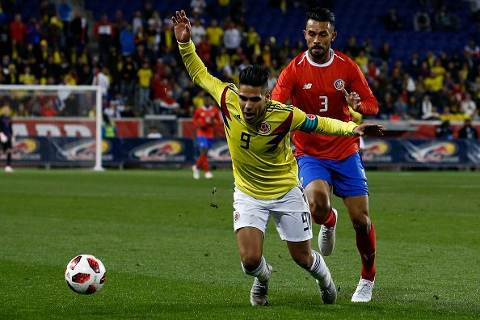 Costa Rica vs Colombia 1-3 Amistoso Fecha FIFA 2018