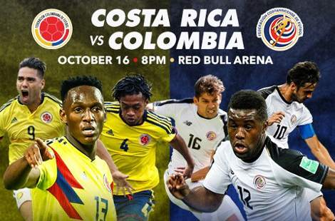 Costa Rica vs Colombia