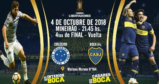 Cruzeiro vs Boca Juniors