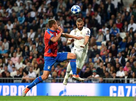 Real Madrid vs Viktoria Plzen 2-1 Champions League 2018-19