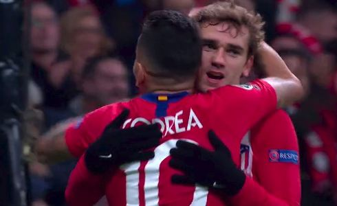 Atlético de Madrid vs Mónaco 2-0 Champions League 2018-19