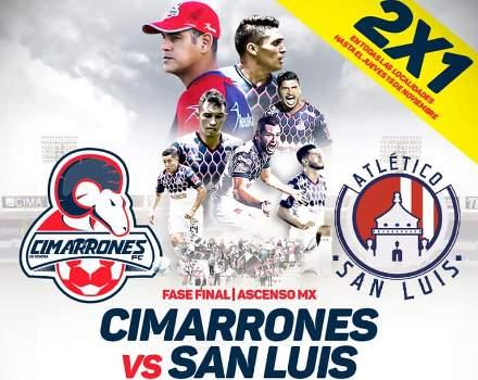 Cimarrones vs Atlético San Luis