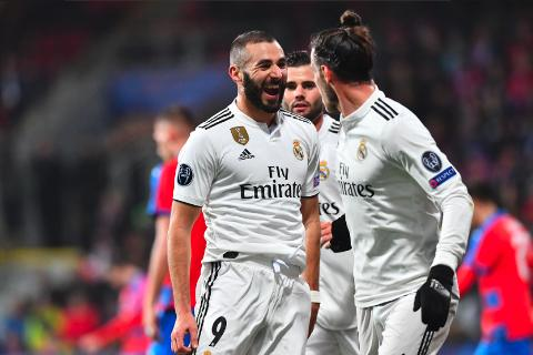 Viktoria Plzen vs Real Madrid 0-5 Champions League 2018-19