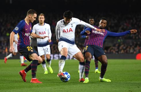 Barcelona vs Tottenham 1-1 Champions League 2018-19