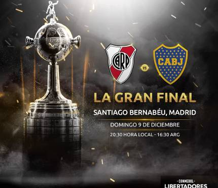 River Plate vs Boca Juniors Final Vuelta Copa Libertadores 2018