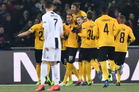 Young Boys vs Juventus 2-1 Champions League 2018-19