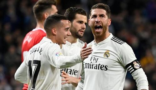 Real Madrid vs Girona 4-2 Copa del Rey 2018-19