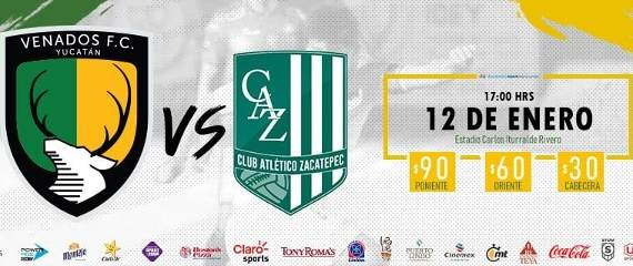 Venados vs Zacatepec