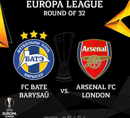 BATE Borisov vs Arsenal