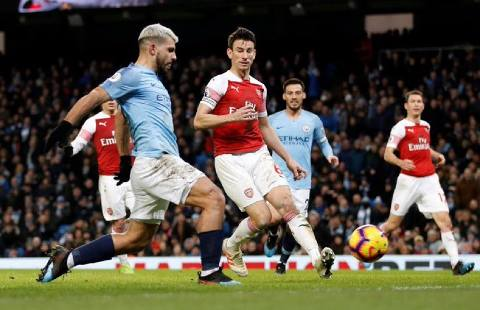 Manchester City vs Arsenal 3-1 Premier League 2018-19