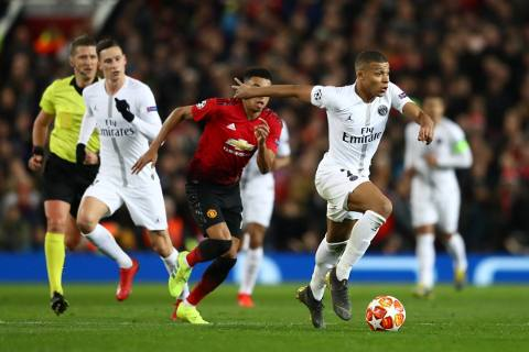Manchester United vs PSG 0-2 Champions League 2018-19