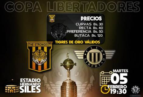 The Strongest vs Libertad