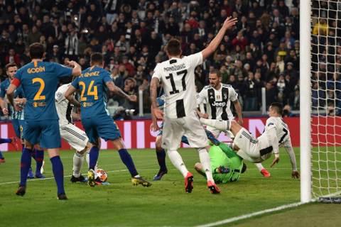 Juventus vs Atlético de Madrid 3-0 Champions League 2018-19