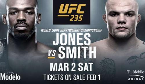Jon Jones vs Anthony Smith