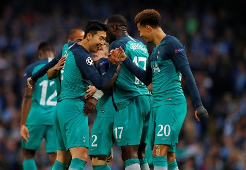 Manchester City vs Tottenham 4-3 Champions League 2018-19