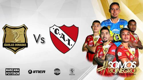 Águilas Doradas vs Independiente