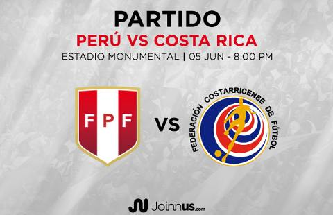 Perú vs Costa Rica