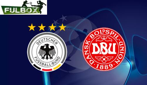 Alemania vs Dinamarca