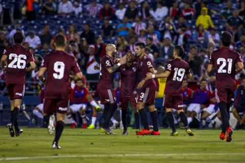 Chivas vs River Plate 1-5 Amistoso Colossus Cup 2019