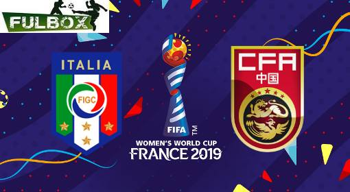 Resultado: Italia vs China [Vídeo Resumen- Goles] Octavos de Final Mundial Femenil 2019