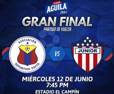 Pasto vs Junior