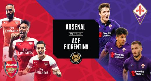 Arsenal vs Fiorentina EN VIVO Hora, Canal, Dónde ver International Champions Cup 2019