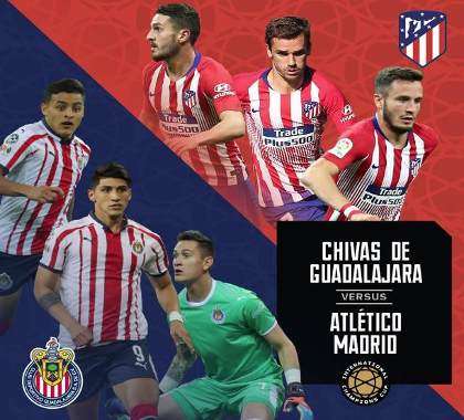 Chivas vs Atlético de Madrid