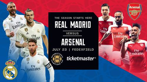 Real Madrid vs Arsenal EN VIVO Hora, Canal, Dónde ver International Champions Cup 2019