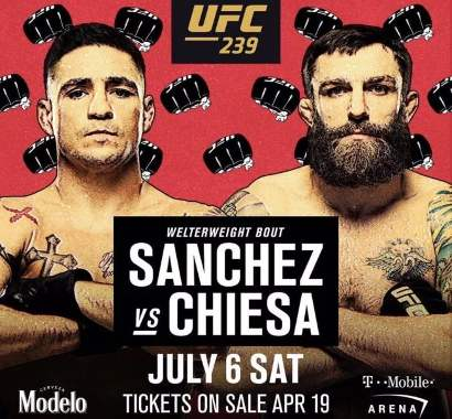 Diego Sánchez vs Michael Chiesa
